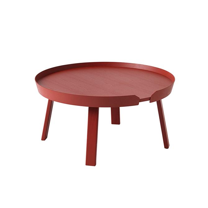 Around large red