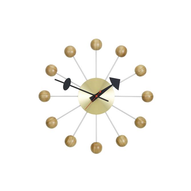 Ball Clock Vitra ciliegio