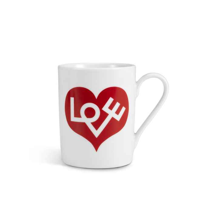 Coffee Mug Love rosso