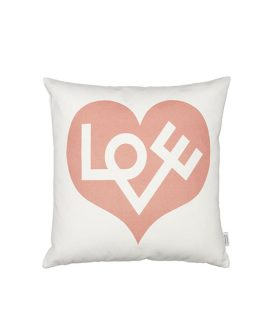 Graphic Pillow Love rosa