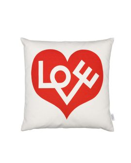 Graphic Pillow Love rosso
