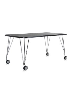 Max Table ruote Kartell Ardesia