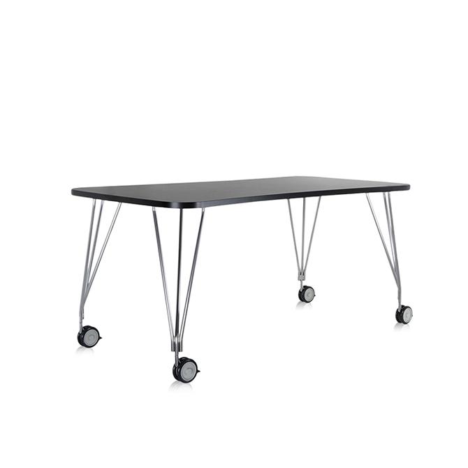 Max tavolo con ruote kartell dtime shop - Tavolo con ruote ...
