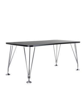 Max Table piedini Kartell Ardesia