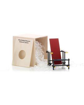 Rood blauwe stoel confezione