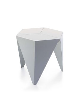 Prismatic Table Bianco
