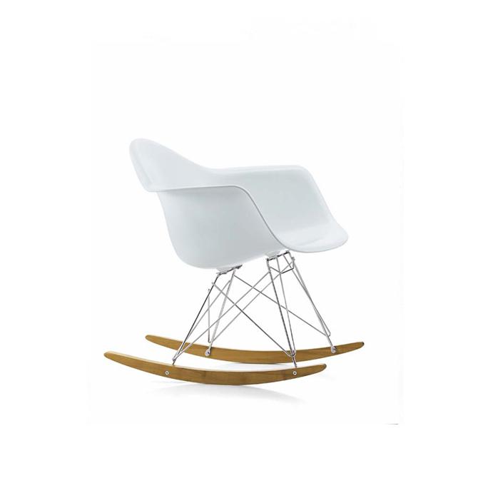Rar dondolo vitra eames plastic armchair dtime for Sedia a dondolo eames vitra
