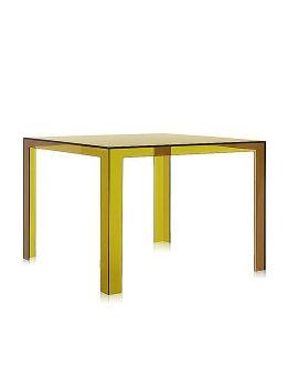 invisible table tavolo trasparente variante verde alga prodotto
