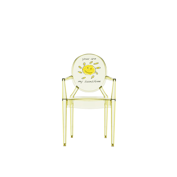 seggiolina lou lou ghost kartell kids sunshine dtime. Black Bedroom Furniture Sets. Home Design Ideas