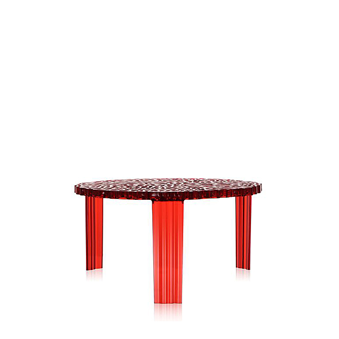 T-Table h 28 Kartell Rosso