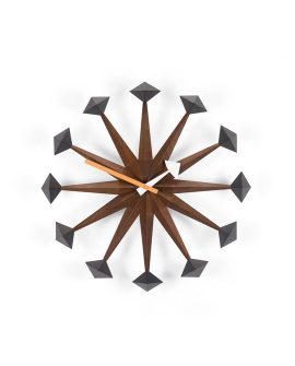 Polygon Clock - Wall Clock Vitra