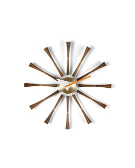 Spindle Clock Vitra -Wall Clock