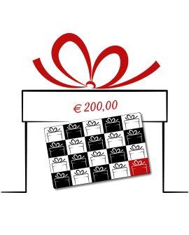 Gift Card Dtime 200 euro