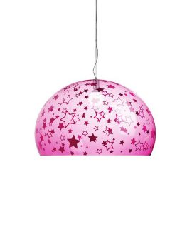 Fly kids media lampada stelle rosa