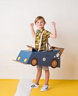 Auto giocattolo in cartone AU0001 Mister Tody DTime
