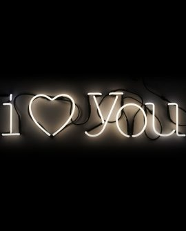 Neon Art I love you Seletti