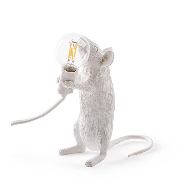 seletti mouse lamp in piedi acquista online su dtime. Black Bedroom Furniture Sets. Home Design Ideas