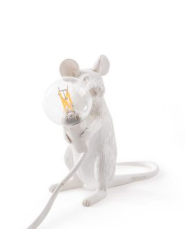 Mouse Lamp Seletti topo seduto/sitting 14885 acquista online DTime