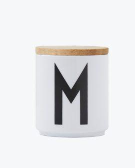 Design Letter Tappo coperchio wooden lid in legno per Tazza Arne Jacobsen - DTimeshop
