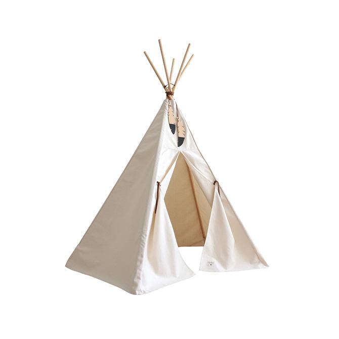 Tenda Nevada Nobodinoz Dtime tenda gioco colore bianco natural 86873 giocattoli creativi di design