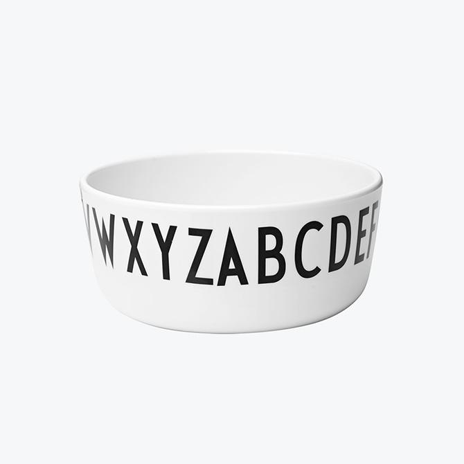 Bowl Kids Design Letters - Ciotola diametro 11 cm con Alfabeto arne Jacobsen - DTime
