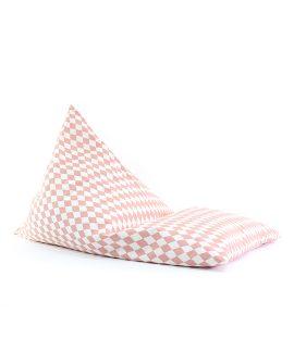 Essaouira Pouf Nobodinoz online su Dtime pouf bambino losanghe diamonds pink 63225