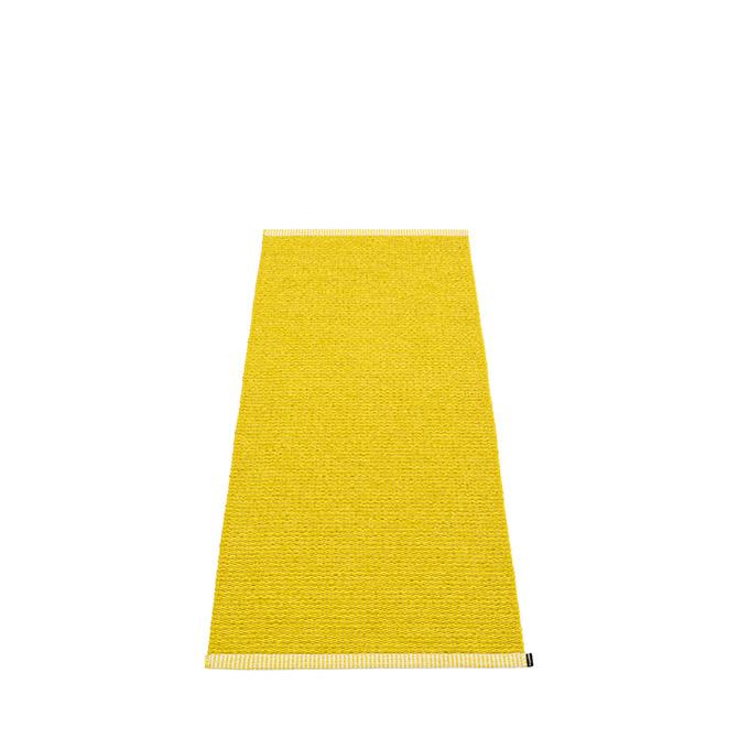 Pappelina Mono MN5A615 tappeto giallo mostards cm 60x150 in plastica PVC_Online su Dtime