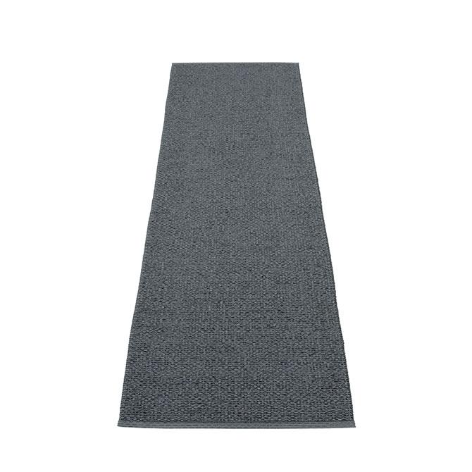 Pappelina Svea SV9E625 tappeto granit grigio scuro cm 60x250 in plastica PVC_Online su Dtime