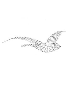 Scultura Birds uccelli Magis Me Too DTimeshop scultura home decor in rete metallica
