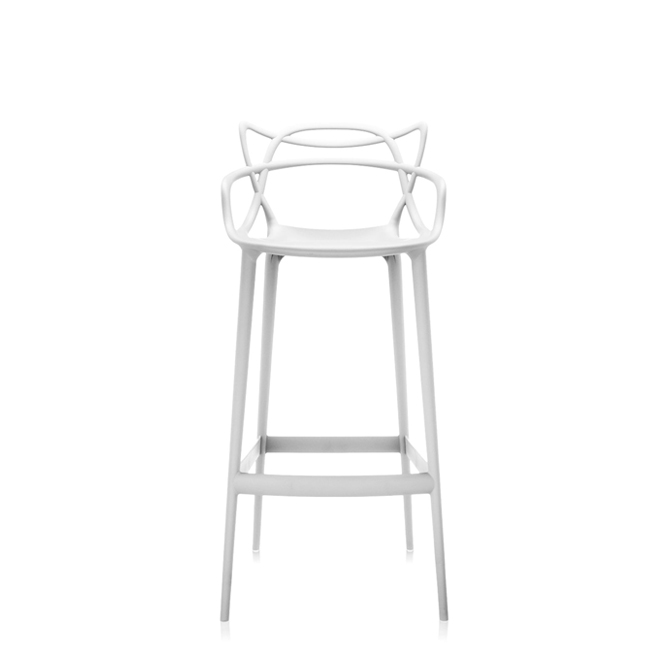Masters Stool Kartell Sgabello Da Bar H 75 Shop Online