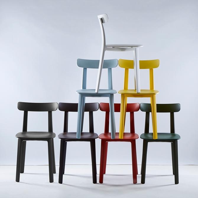 Sedia All Plastic Chair Vitra - Jasper Morrison, 2016   DTime Shop
