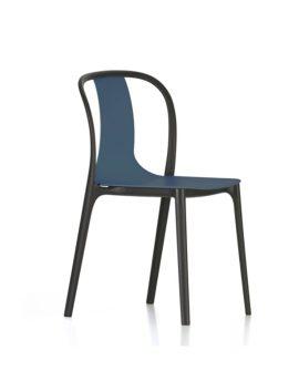 Belleville Chair Plastic variante blu marino