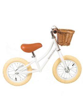 first go bicicletta senza pedali bianco immagine copertina
