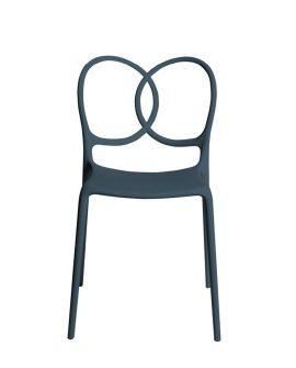 sissi sedia di design variante grigio scuro prodotto