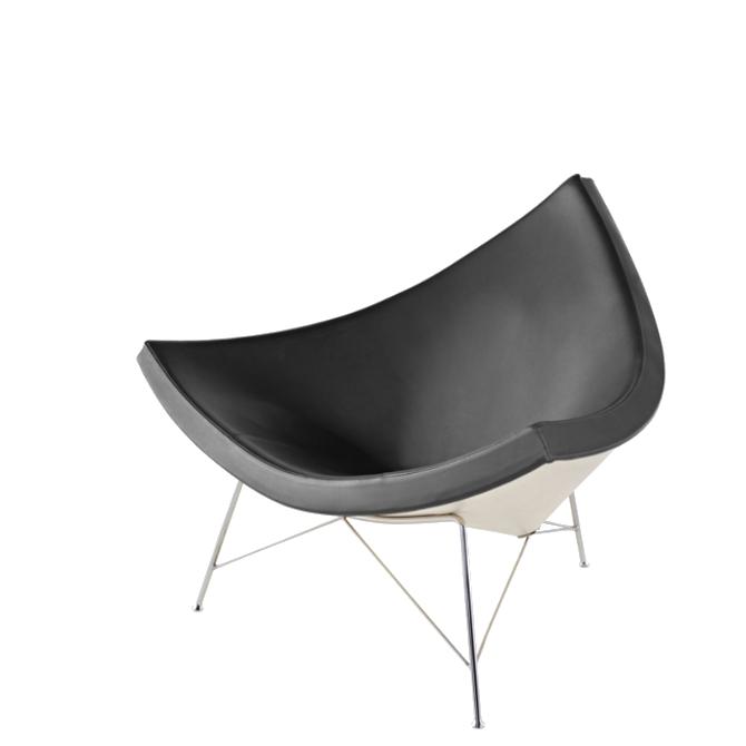 coconut chair sedia lounge prodotto frontale di lato