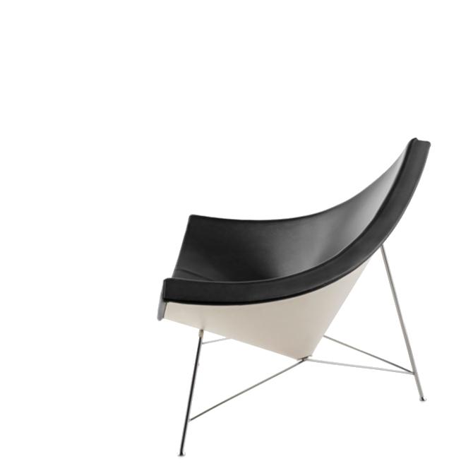 coconut chair sedia lounge prodotto laterale