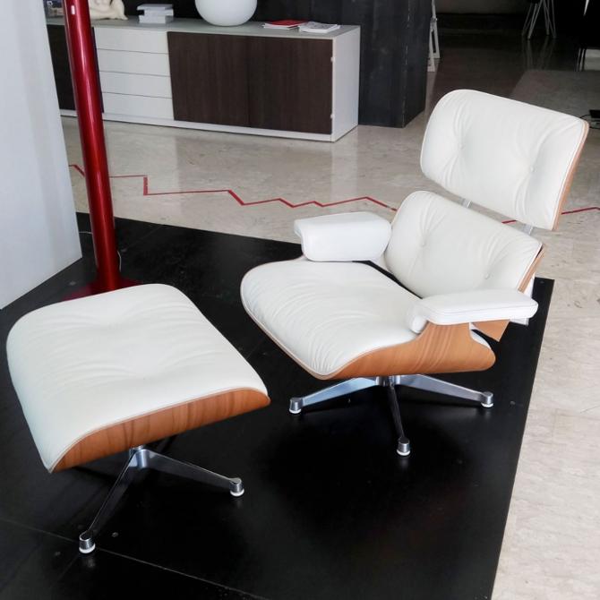 lounge chair noce pigmentato bianco prodotto ambientata dall'alto