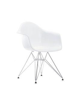 eames plastic chair modello bianco