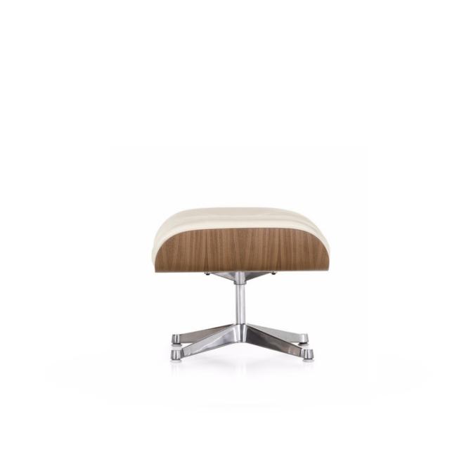 lounge chair ottoman noce pigmentato bianco immagine di copertina