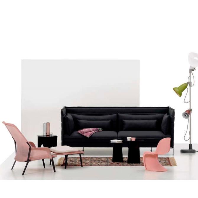 slow chair ottoman prodotto ambientata vari prodotti