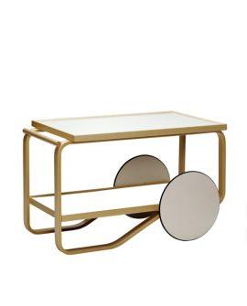 tea trolley 901 tavolino da tè finitura piano bianco iki hpl immagine di copertina