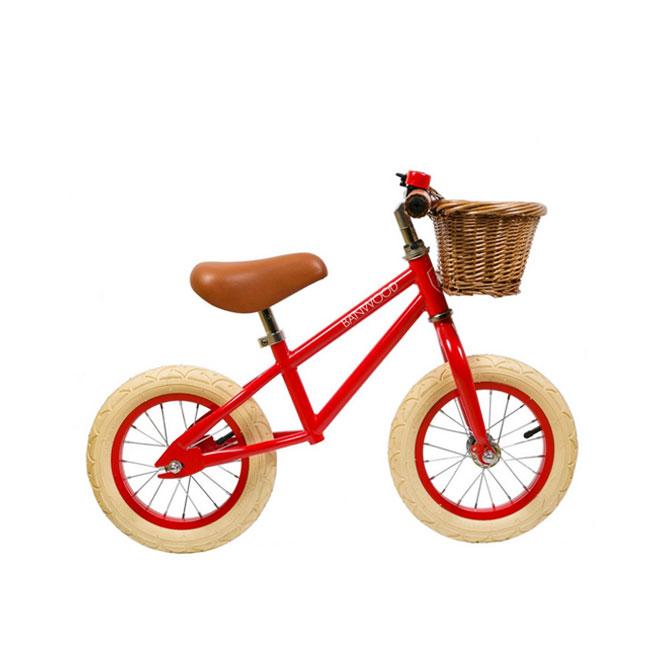 First Go Bicicletta Senza Pedali Rosso