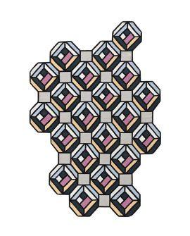 kilim-blue-parquet-tetragon-rug