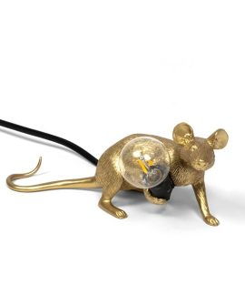 [SELETTI MOUSE GOLD LOP 1]