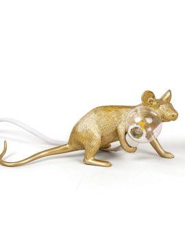 Seletti-MouseLamp-GOLD_lyingdown1