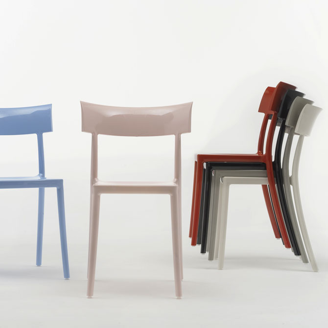 Sedia Catwalk by Philippe Starck - Kartell | Shop online ...