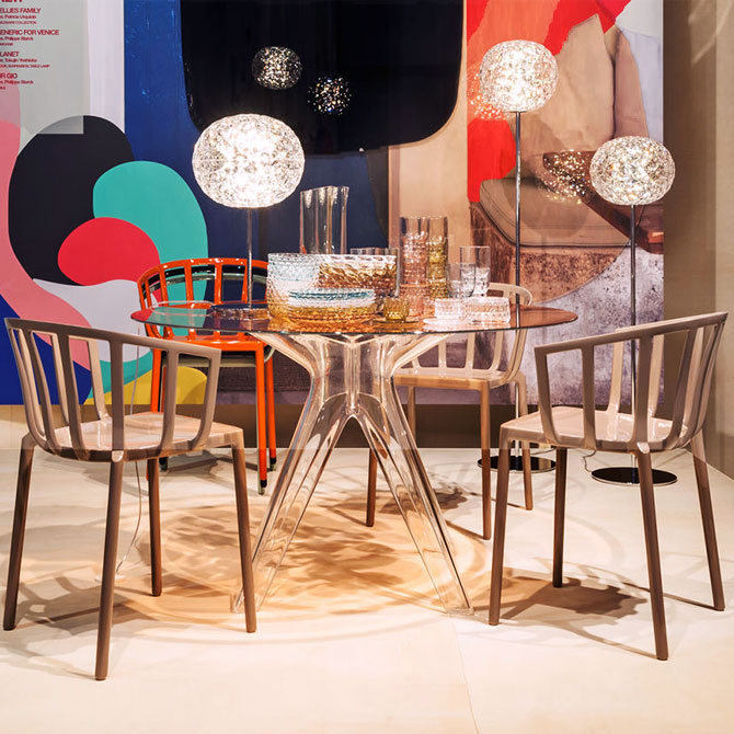 Sedia venice by philippe starck kartell shop online su for Sedie shop on line