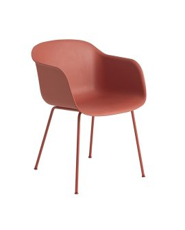 Fiber_chair_tubebase_dusty_red_front_70003