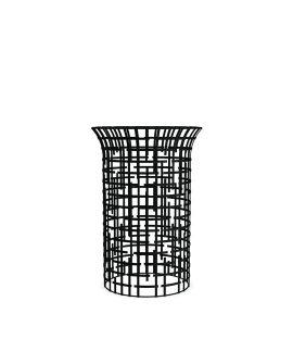 tavolino maglia di acciaio