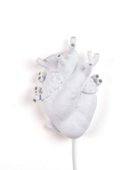 [Heart Lamp Seletti - applique in porcellana - dtimeshop]